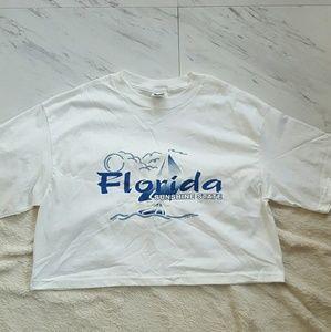 90s Florida Crop T-Shirt